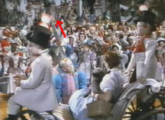 Hanging in wizard of oz movie